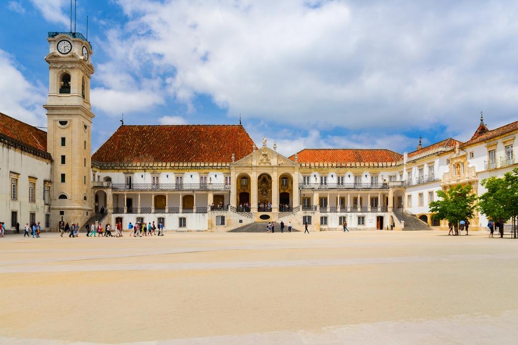 Coimbra, Portogallo on the road