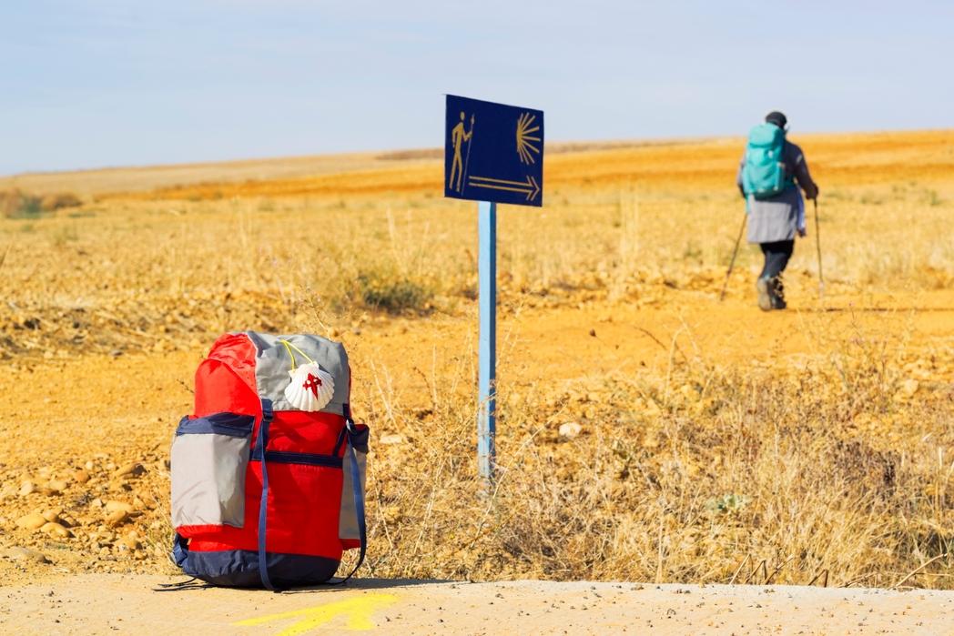 Πεζοπόρος του Camino de Santiago -Ταξίδι περιπέτειας στη Γαλικία