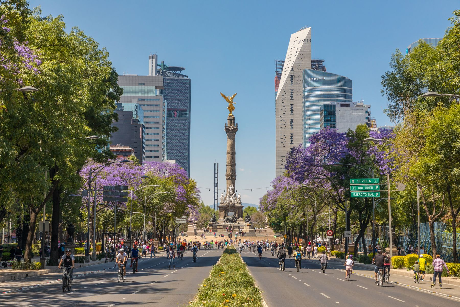 Centre-ville de Mexico City