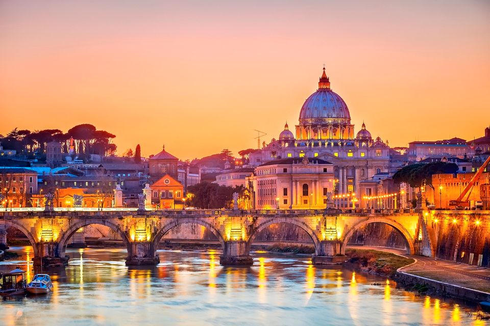 Wszystkie drogi prowadzą do Rzymu