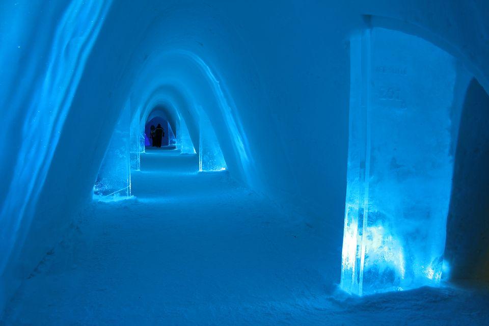 Snow Village Finland