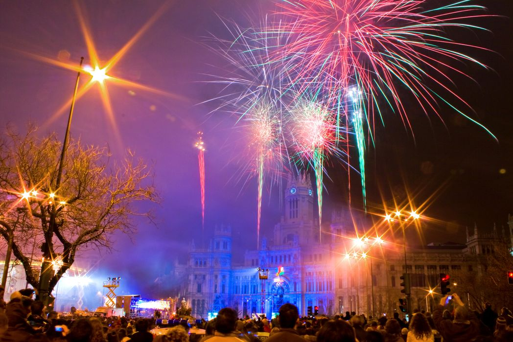 Fireworks at the Three Kings Parade, Madrid, Spain - Top 10 Christmas and New Year holidays for 2019/2020
