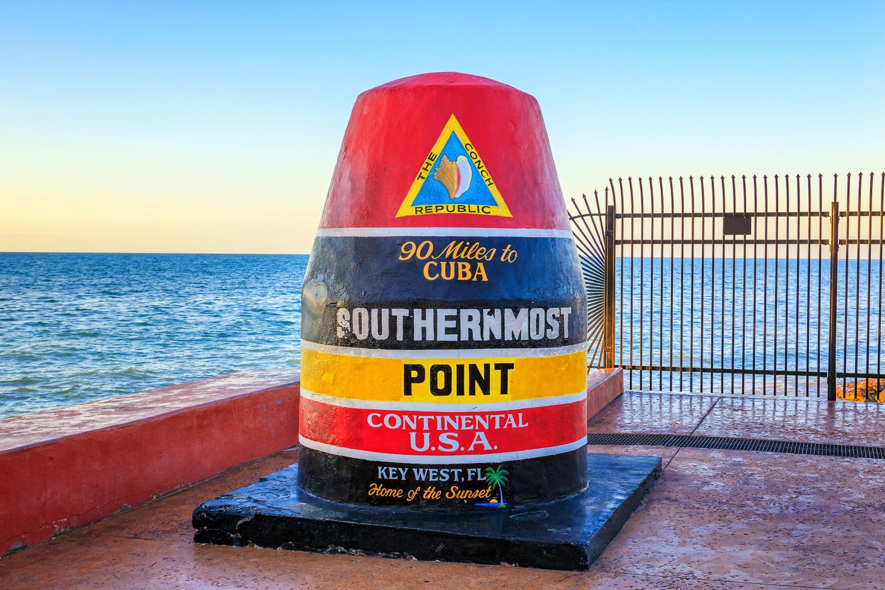 Key West, Florida auf der Bucket List