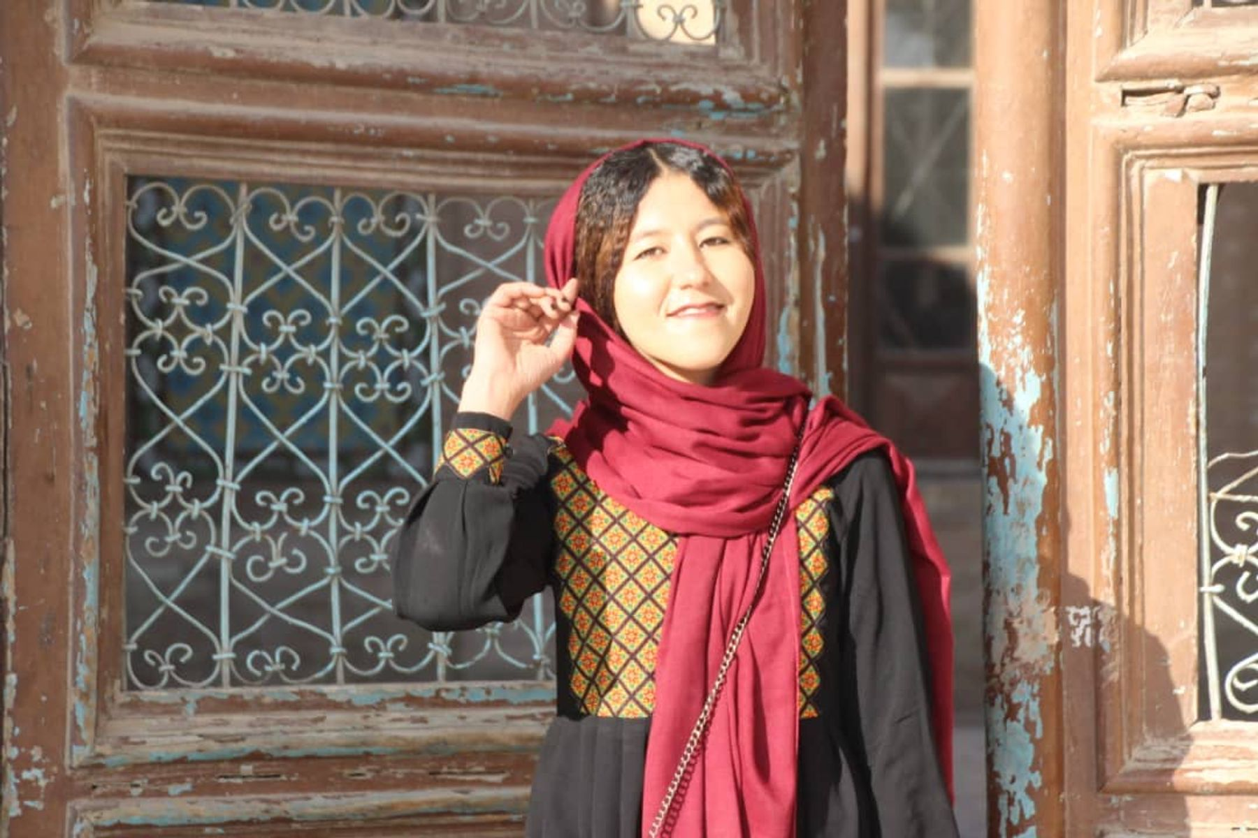 Fatima, Afghanistan's first ever female tour guide