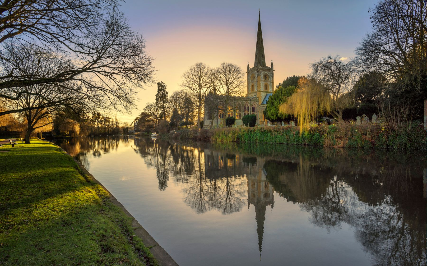 Shakespeare's home town, Stratford-Upon-Avon