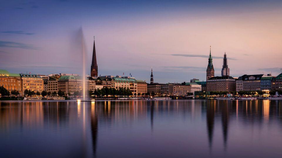 Что посмотреть в Гамбурге за 1 день самостоятельно - маршрут фото описание карта