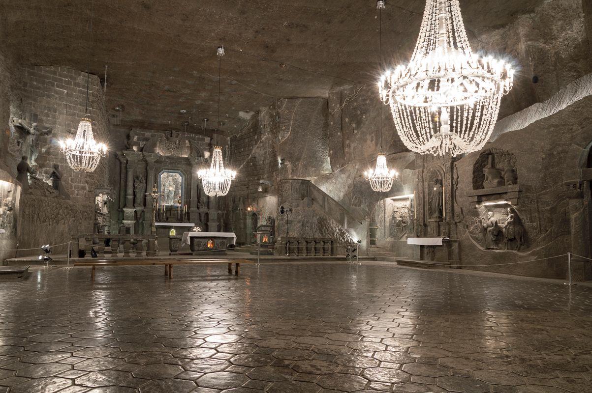 Ciekawe miejsca w Polsce: Kopalnia Soli w Wieliczce