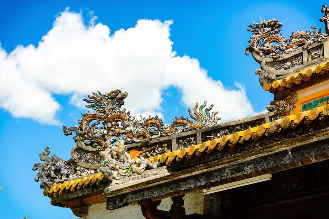 Ναός στην αυτοκρατορική πόλη του Χουέ