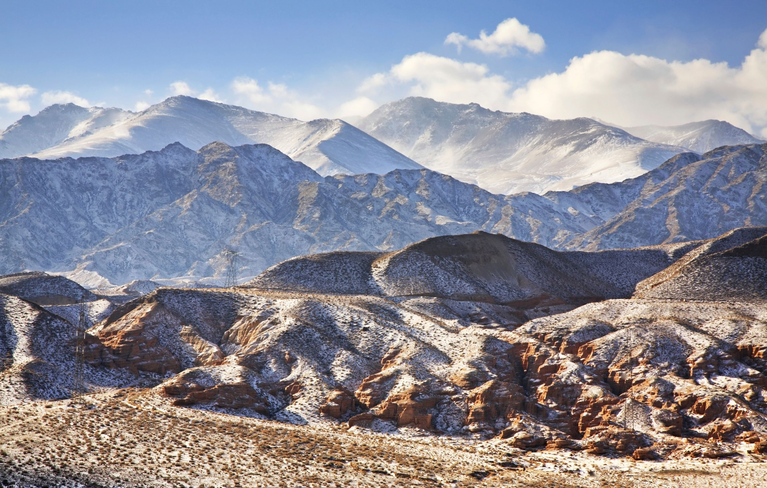 The vast landscapes of Kyrgyzstan