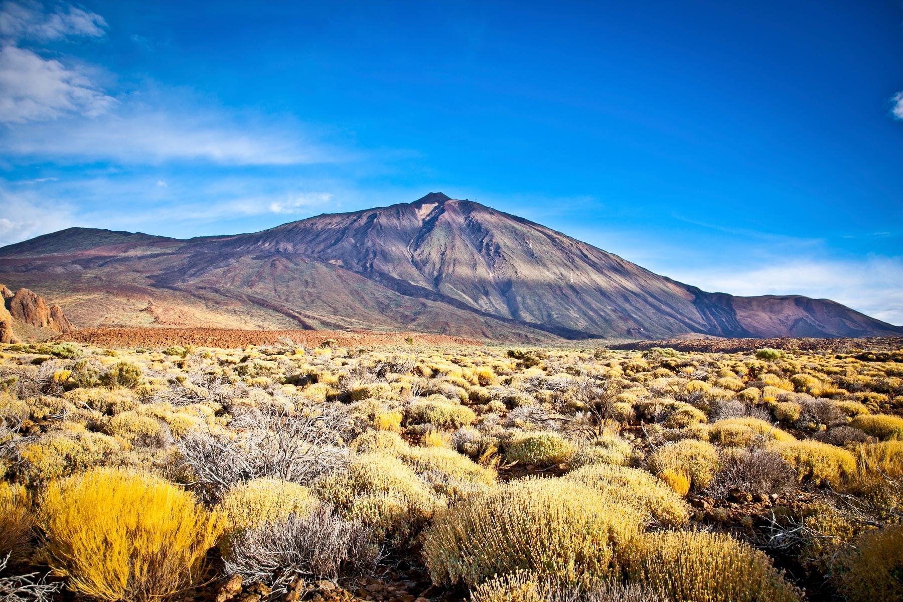 The Teide volcano - Ireland public holidays