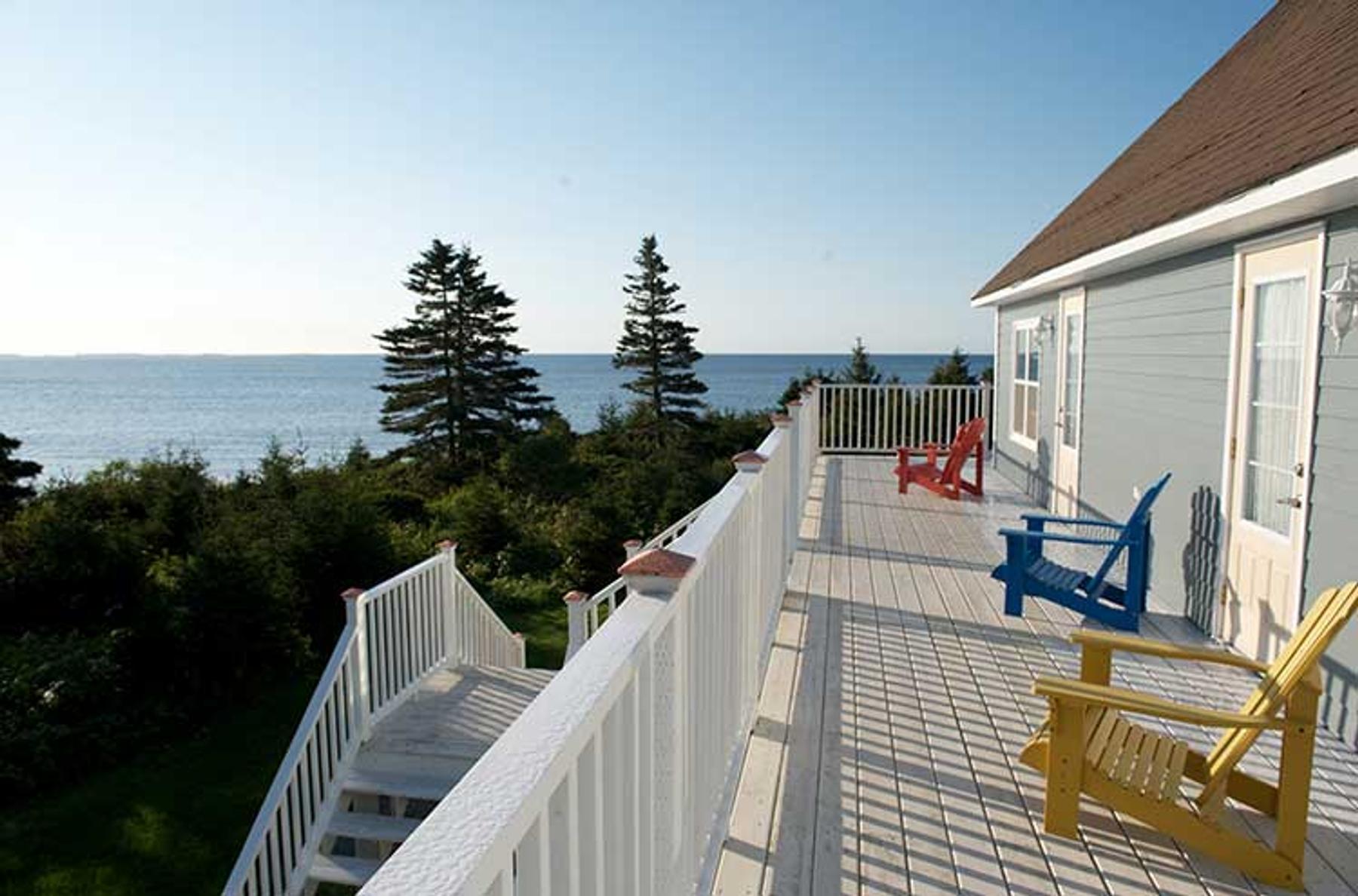 Seawaind patio views