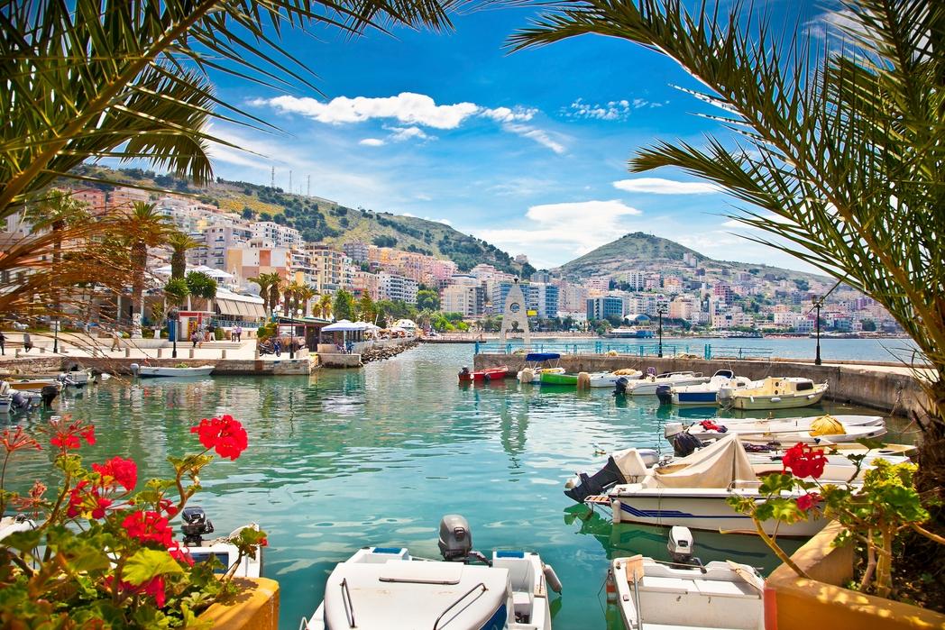 Joonianmeren rannikko Albaniassa