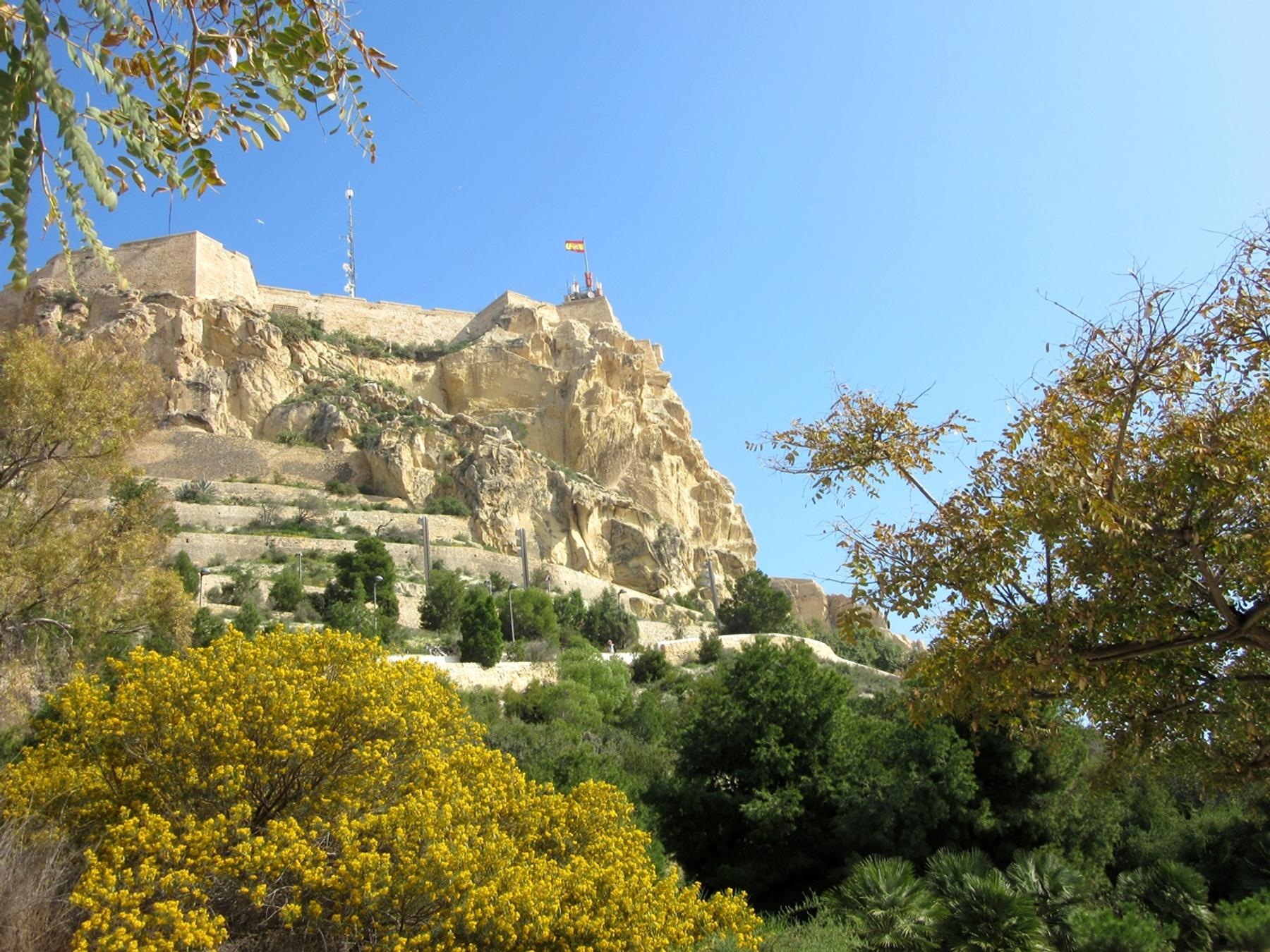 Castillo de Santa Bárbara que ver en Alicante