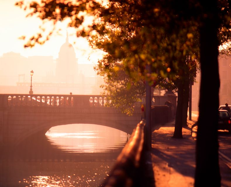 Sunrise in Dublin - 6 things to do in Dublin for under a fiver