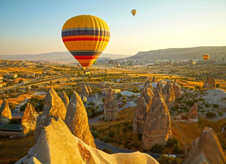 Nevşehir Kapadokya Balon Turu Ürgüp Göreme