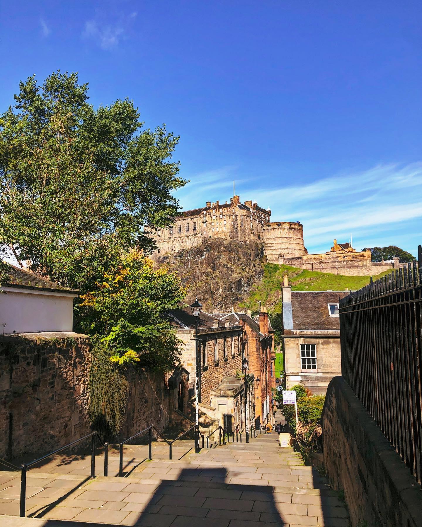 Sommerurlaub in Edinburgh, Schottland