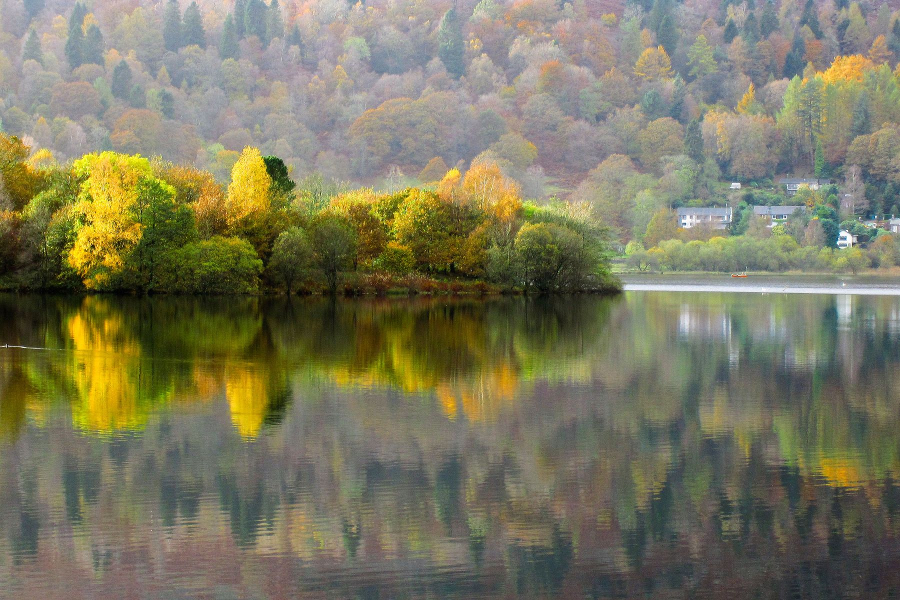 In the Lake District, Grasmere is one of the prettiest settings for an English village