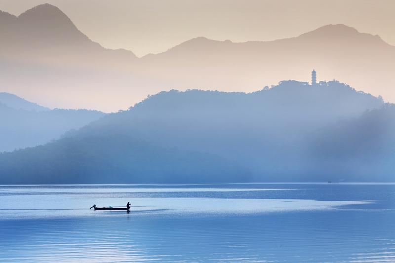 lago sun moon en taiwán