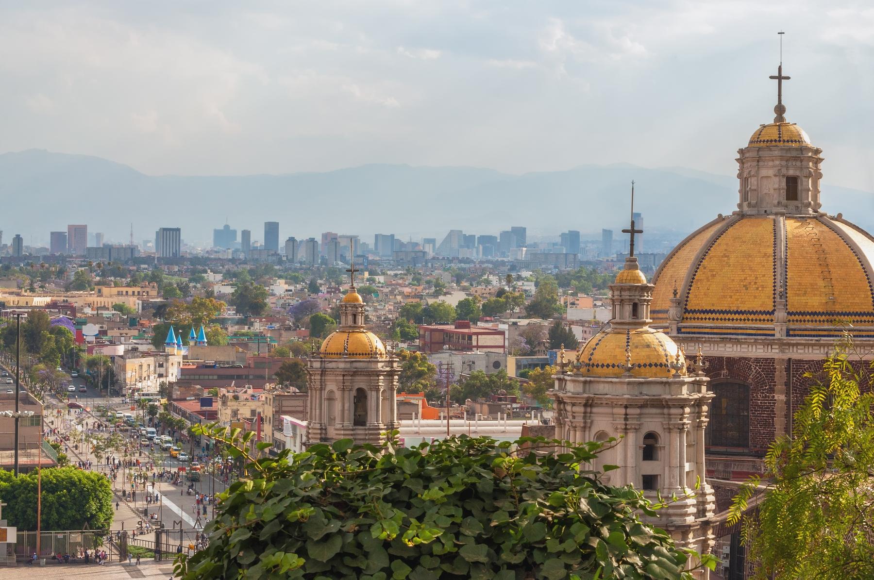 Cúpula da Basílica de Nossa Senhora de Guadalupe, na Cidade do México