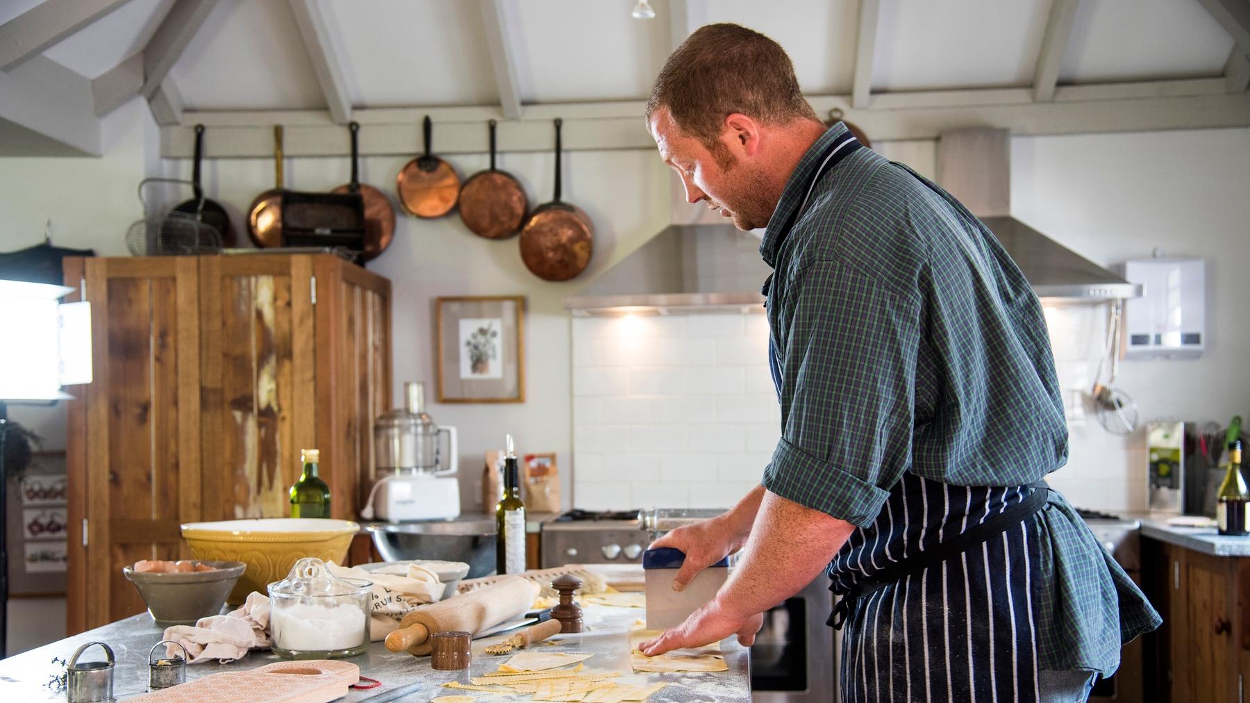 Cooking school in Tasmania