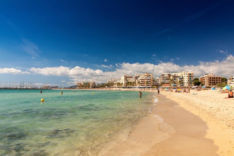 Palma Beach, Mallorca