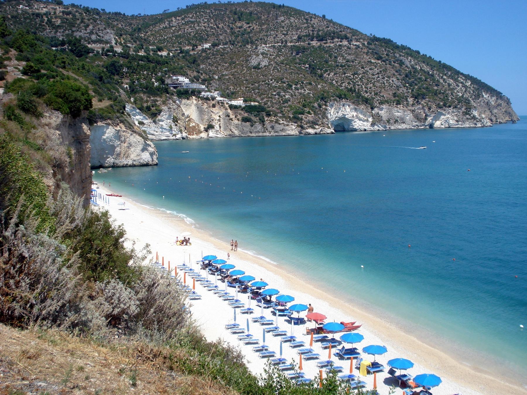Spiagge del Gargano: Mattinatella Gargano