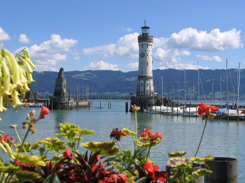 Die schönsten Seen und Badeseen in Deutschland: Bodensee in Baden-Württemberg & Bayern, Österreich und der Schweiz