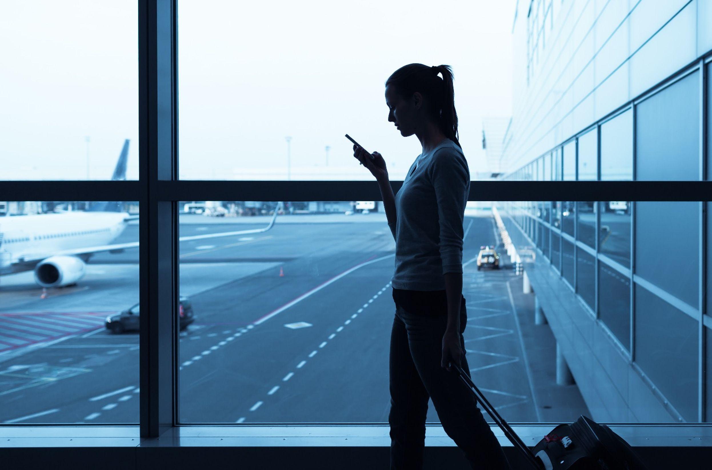 Opuszczenie lotniska w czasie przesiadki