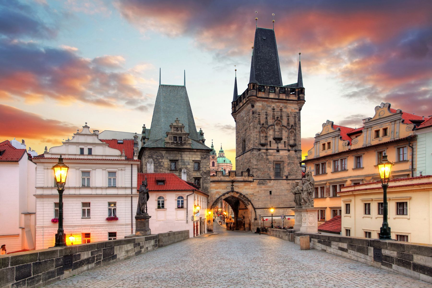 The beautiful city of Prague  - פראג