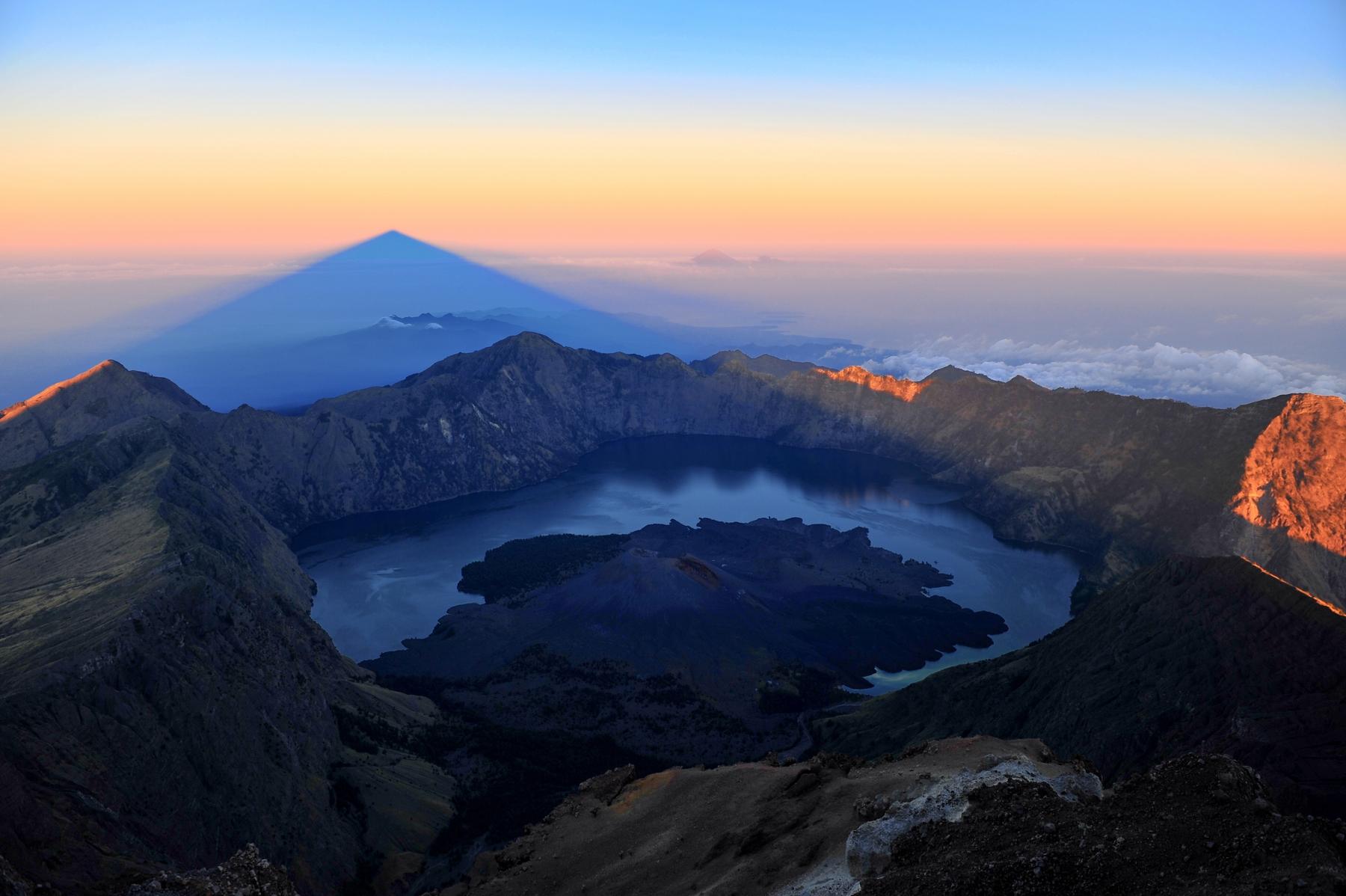 Mount Rinjani Indonesia
