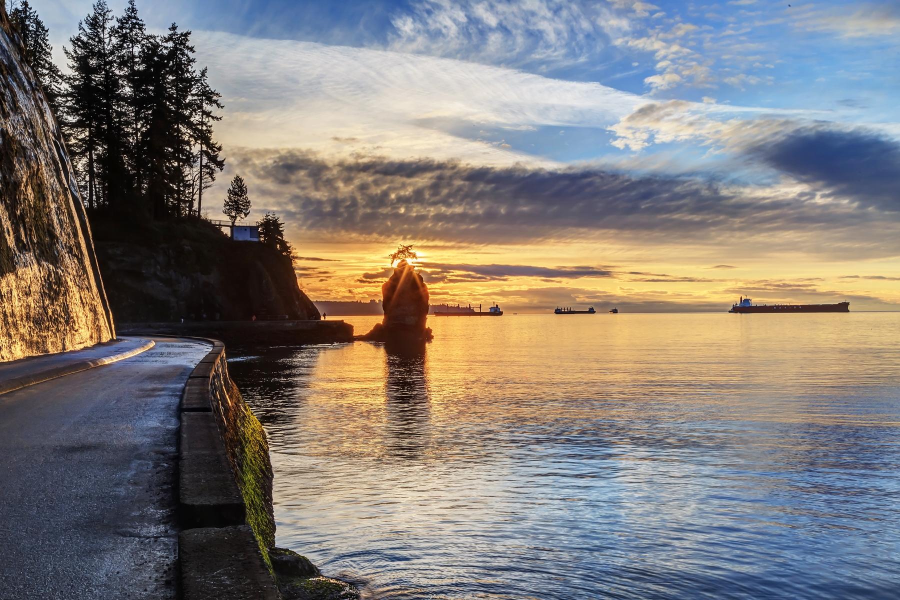 ocean near Vancouver's Stanley Park