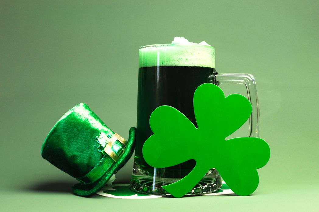 A green hat and a pint of beer - Best Places to Celebrate St. Patrick's Day in Ireland