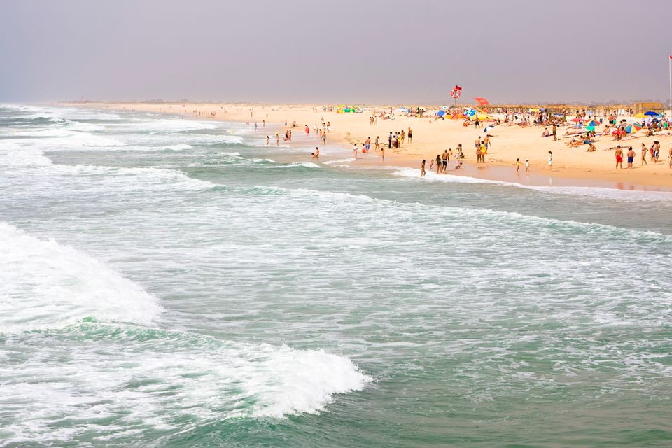 Ilha de Tavira's beach is one of the most stunning in Portugal