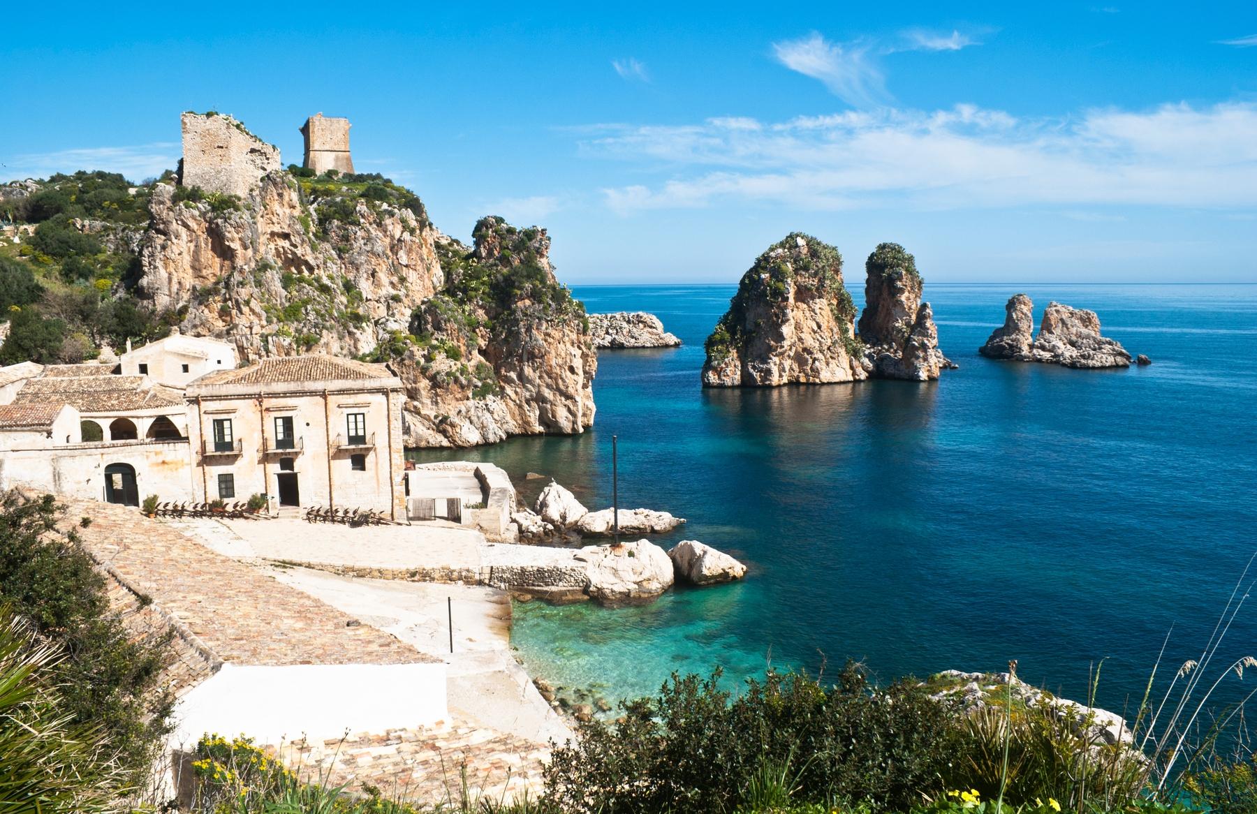 spiagge più belle della Sicilia: Scopello