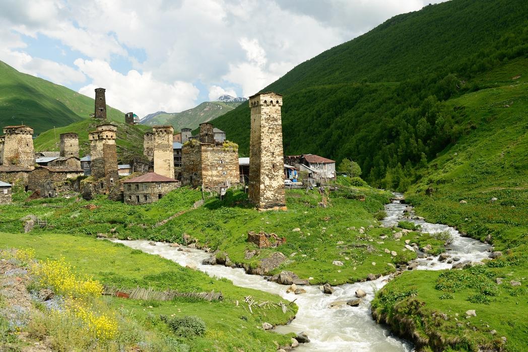 Οι περίφημοι οχυρωματικοί πύργοι των Σβαν.