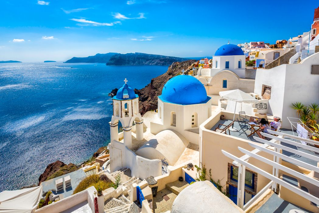 Oia, Santorini - best Greek islands to visit