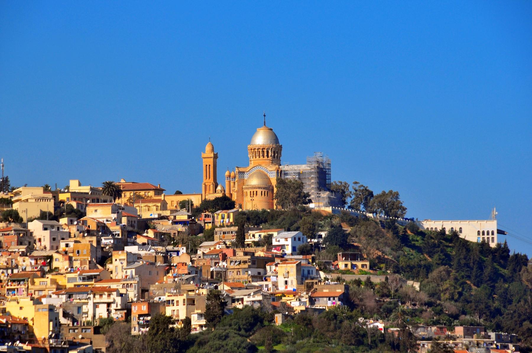Países más grandes: Vista de Argel