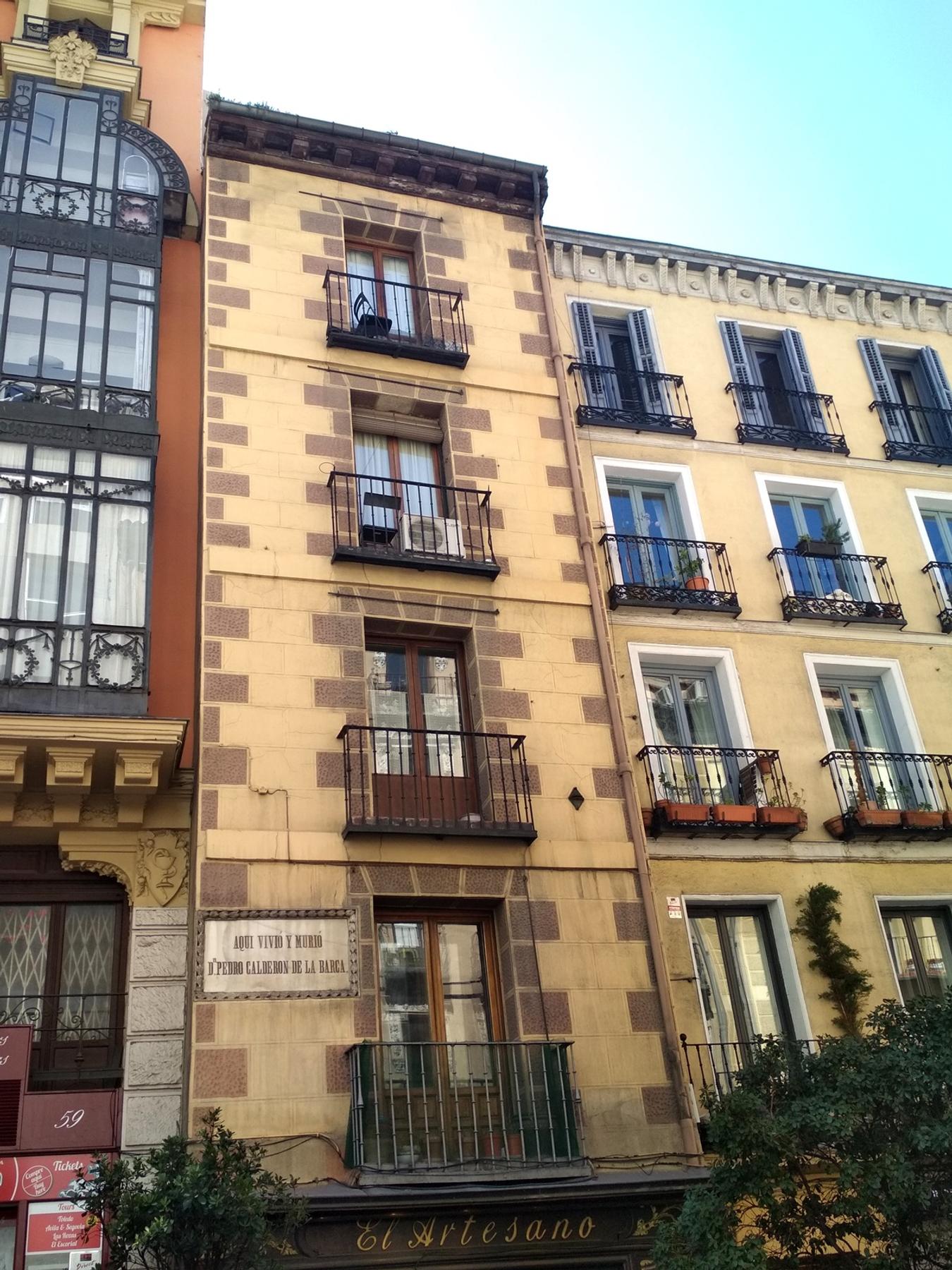 Casa Calderón de la Barca Madrid