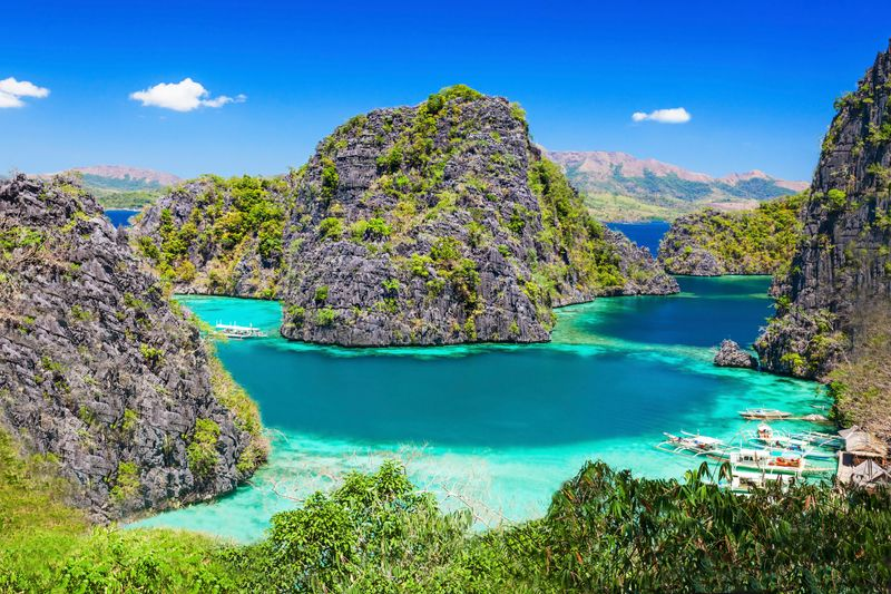 The lush and gorgeous islands of Palawan