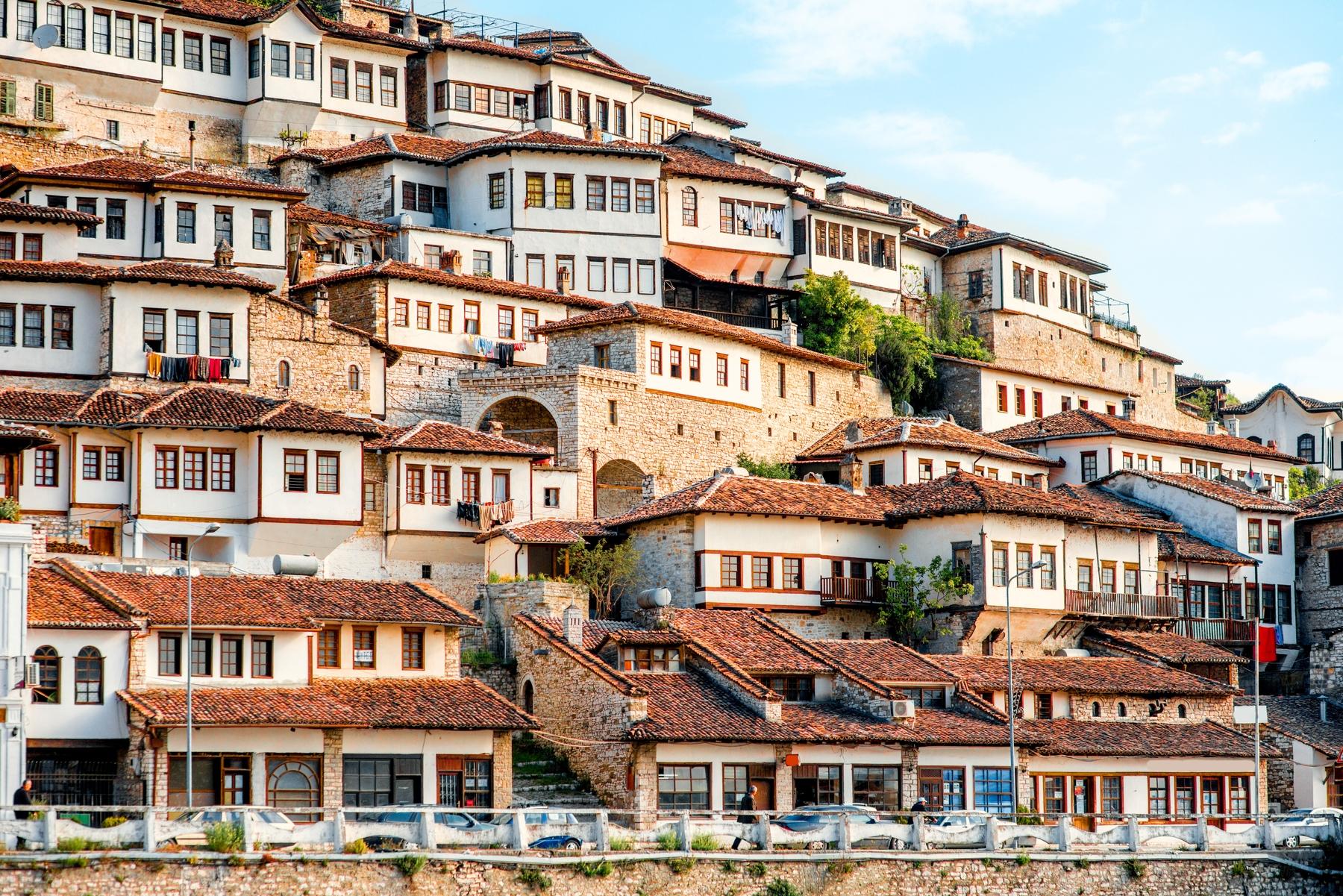 Албанский городок Берат