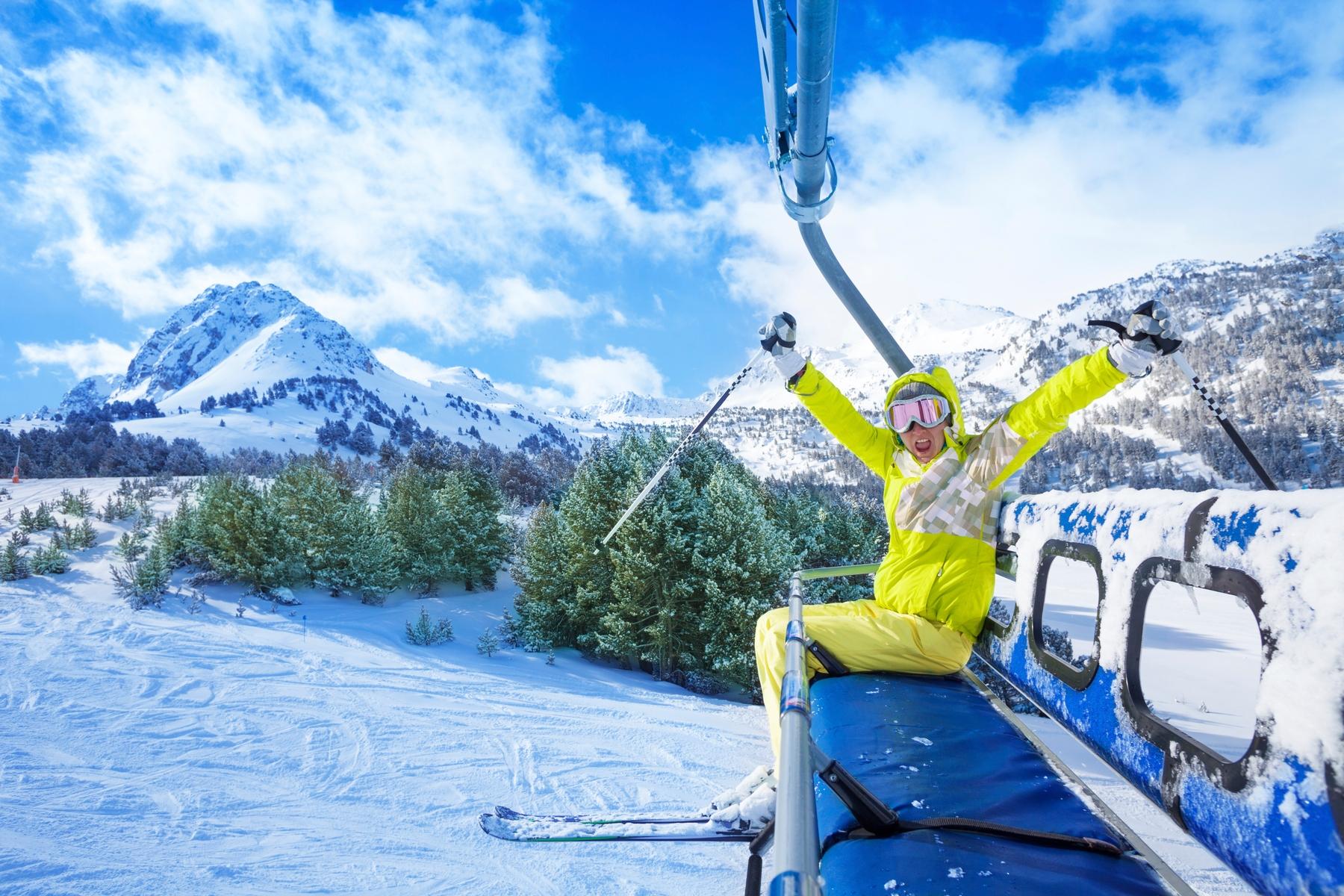 Багаж в «Аэрофлоте»: провоз горных лыж и сноуборда