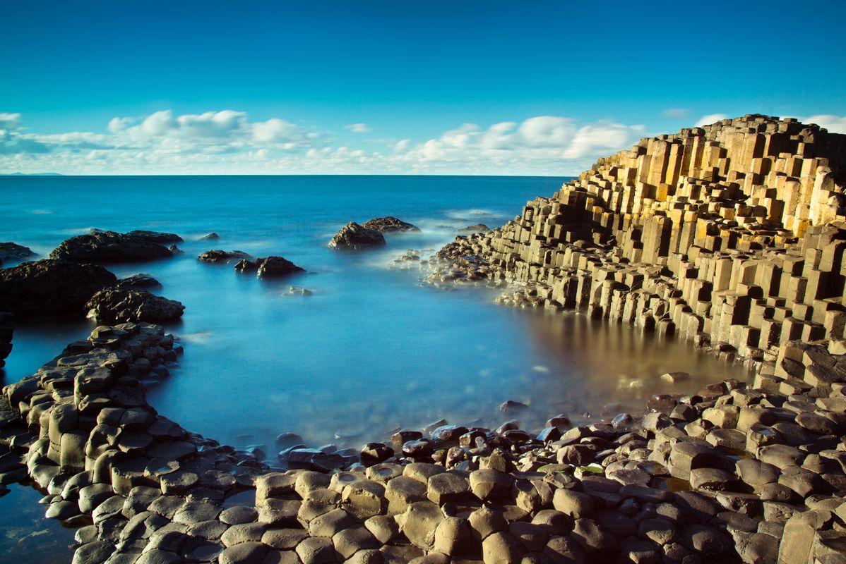 Die schönsten Sehenswürdigkeiten Irlands: Giant's Causeway, bei Bushmills, Nordirland
