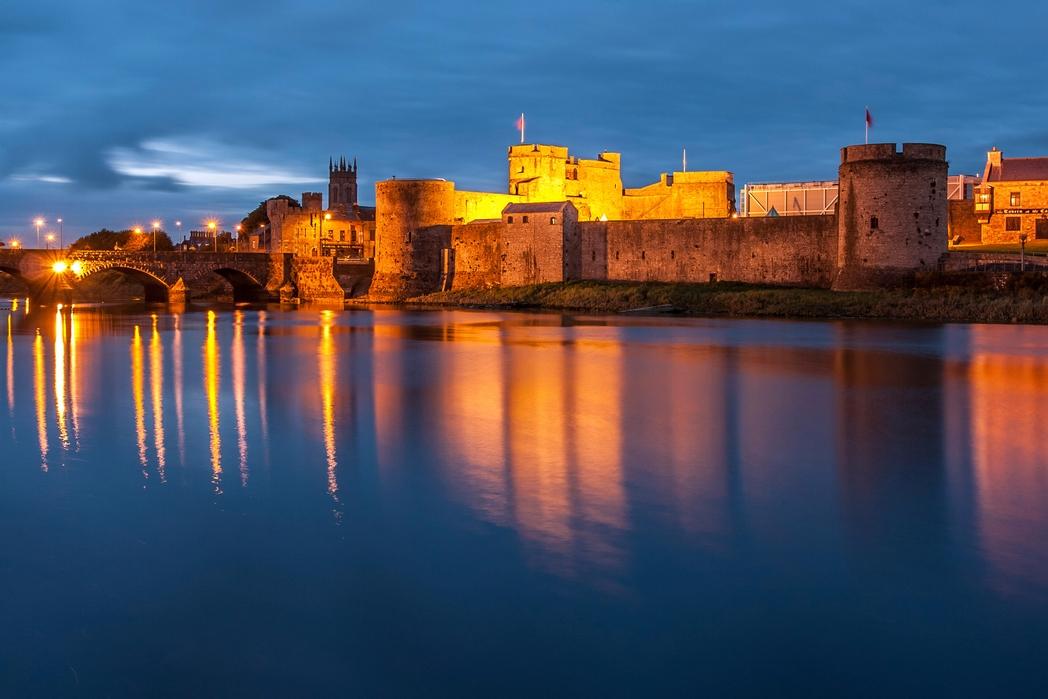 Limerick City by night