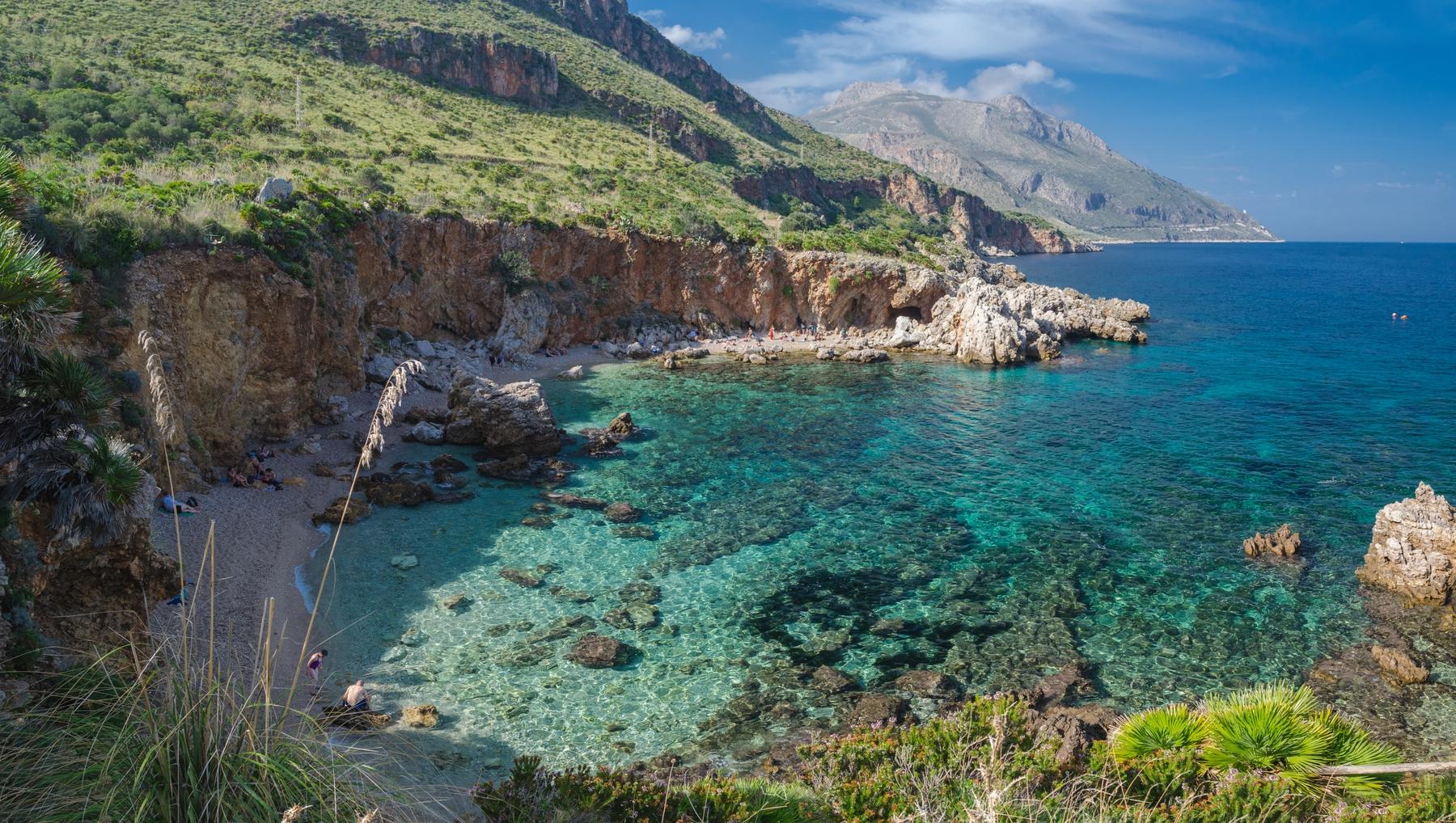 spiagge più belle della Sicilia: Riserva Naturale dello Zingaro
