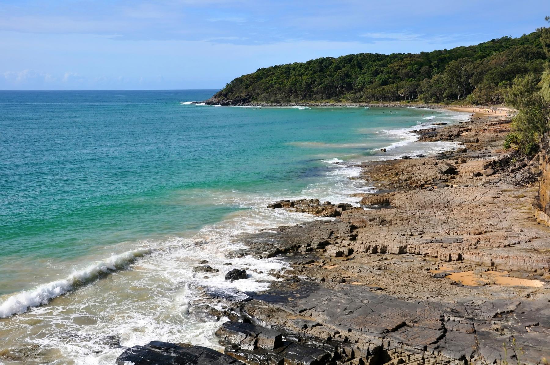 Sunshine Coast is close to Noosa National Park