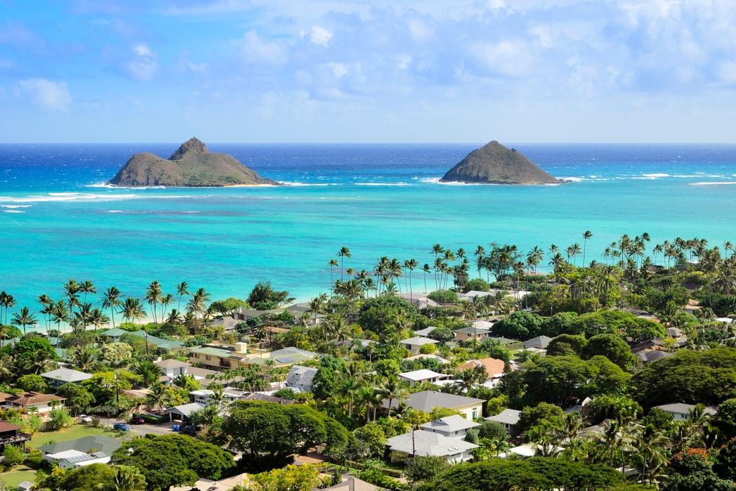 The gorgeous Lanikai Beach, Hawaii - 12 best beaches in the world
