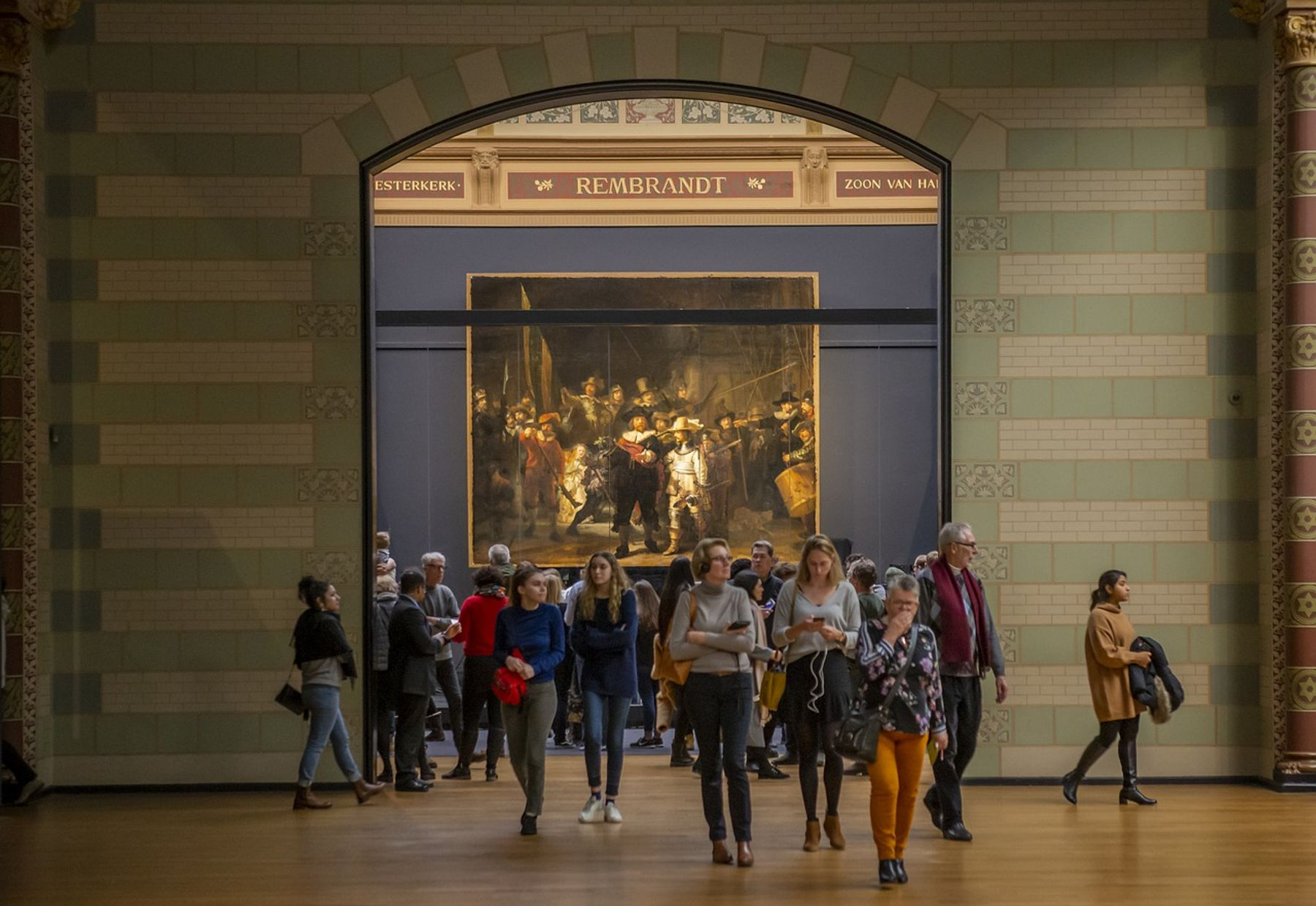 Nachtwacht Rijksmuseum in Amsterdam