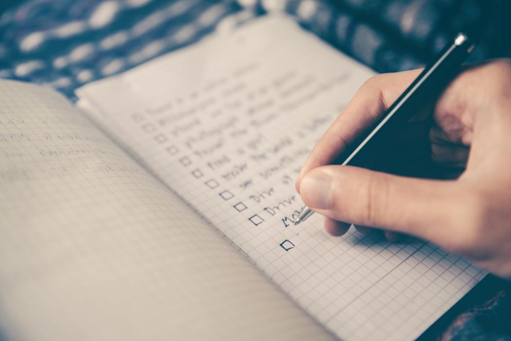Λίστα διακοπών για διακοπές χωρίς άγχος
