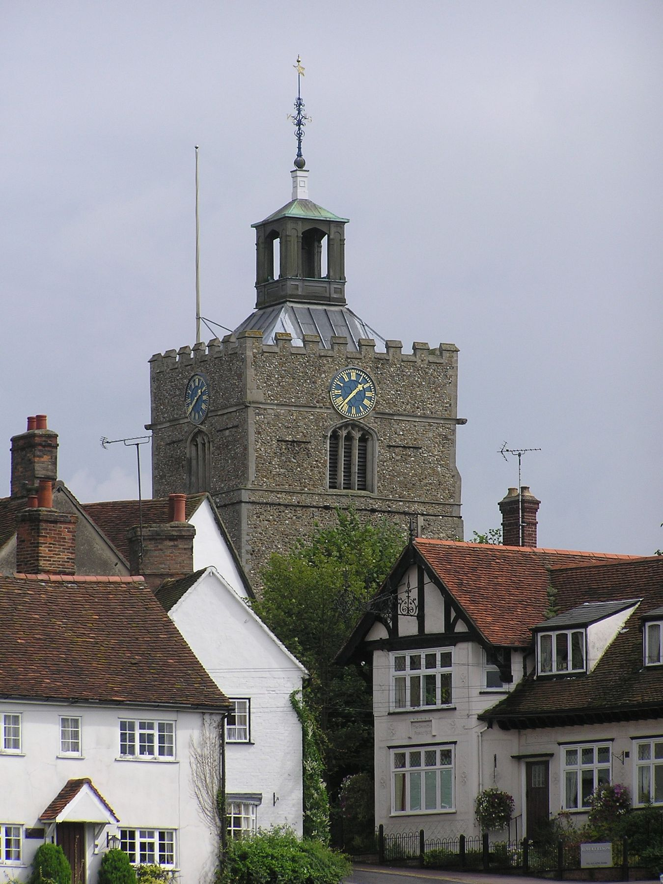 Finchingfield is a pretty English village near London