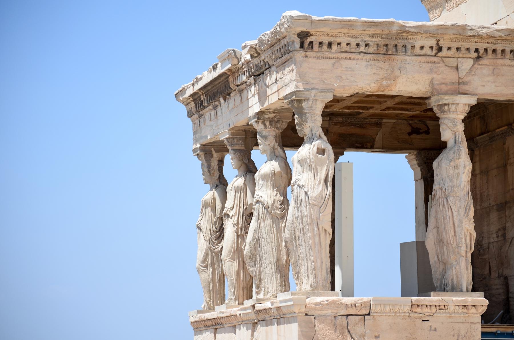 visitar la Acrópolis de Grecia covid